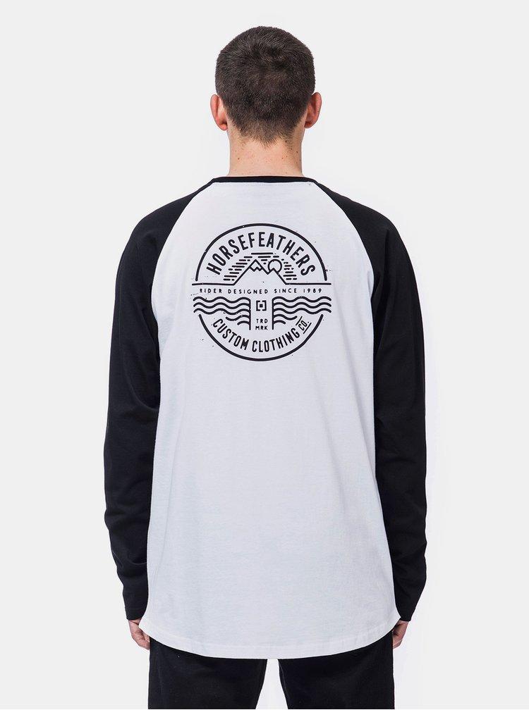 Bílé pánské tričko Horsefeathers