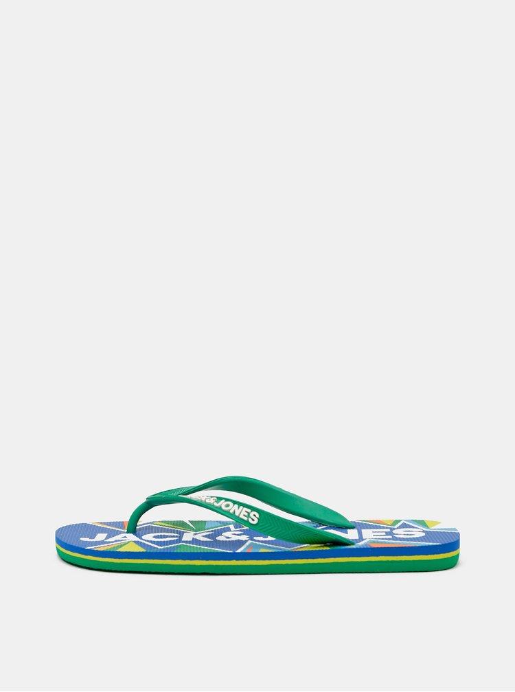 Sandale si slapi pentru barbati Jack & Jones - verde, albastru