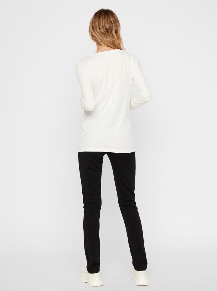 Černé těhotenské kalhoty Mama.licious Alba