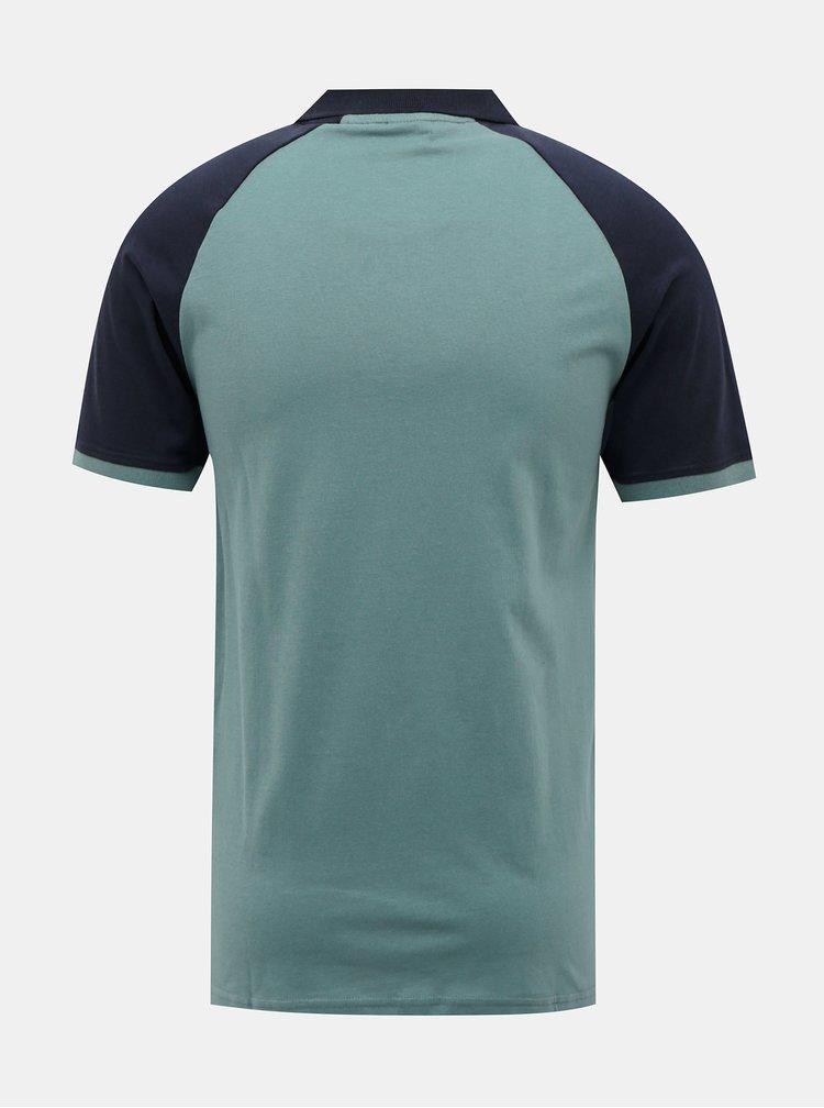 Modré polo tričko Jack & Jones Tolga