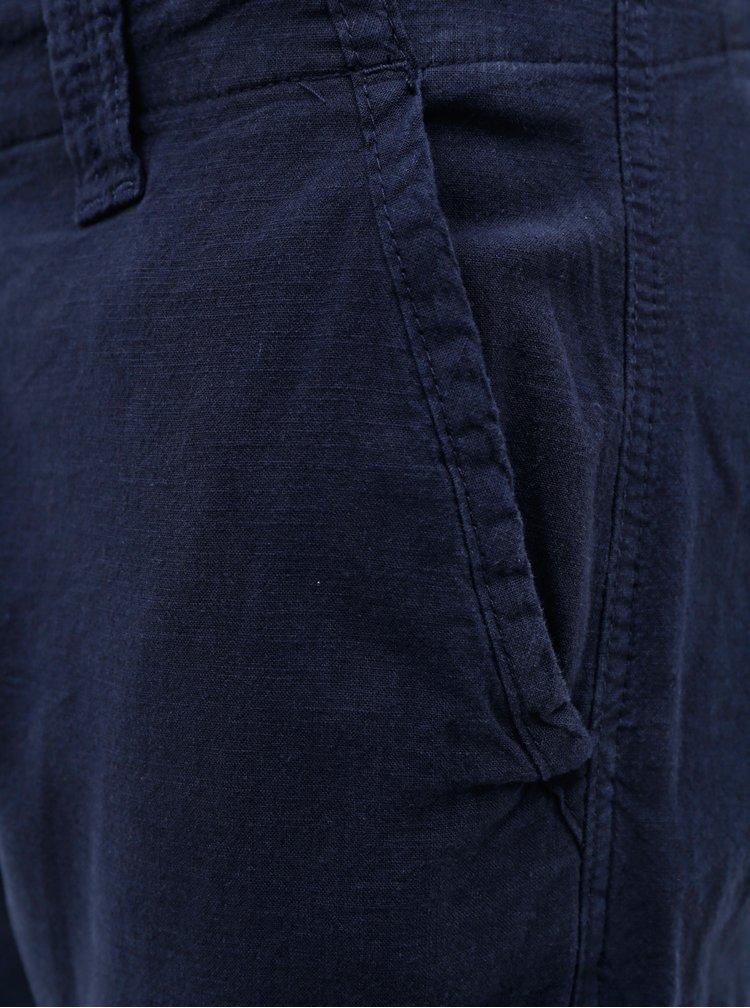 Pantaloni casual pentru barbati Jack & Jones - albastru inchis