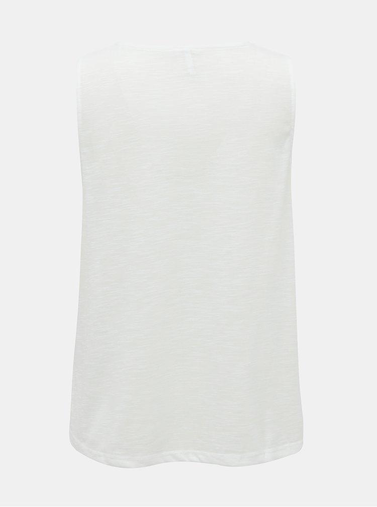 Bílý top ONLY Lisa