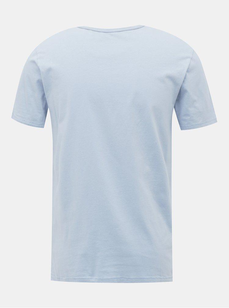 Svetlomodré tričko Jack & Jones Brett