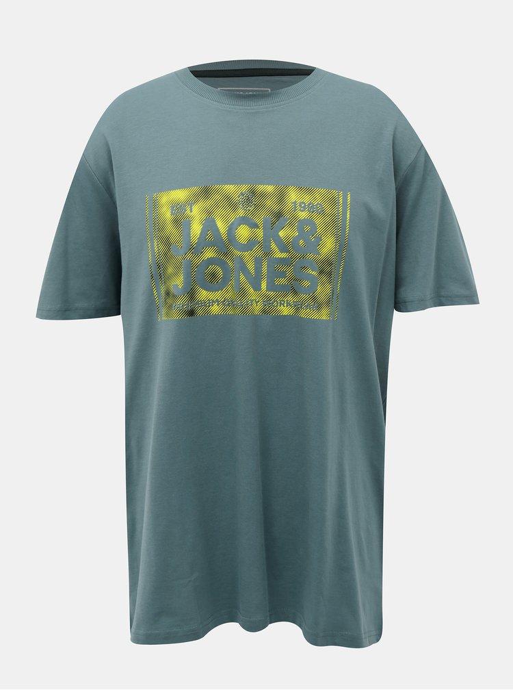 Zelené tričko Jack & Jones Tate