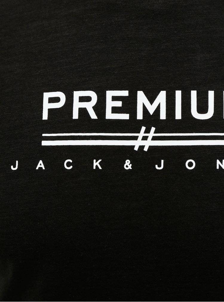 Černé tričko Jack & Jones Easy