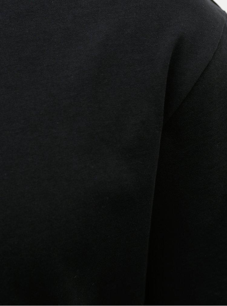Černé basic tričko Selected Homme Relax
