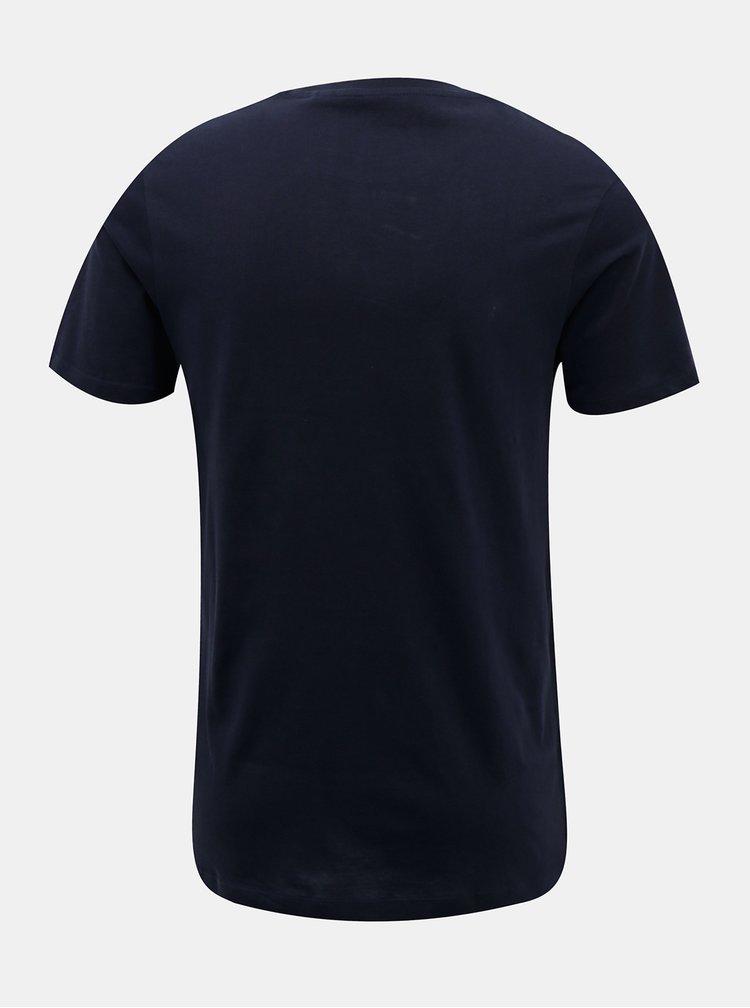 Tmavě modré tričko Jack & Jones