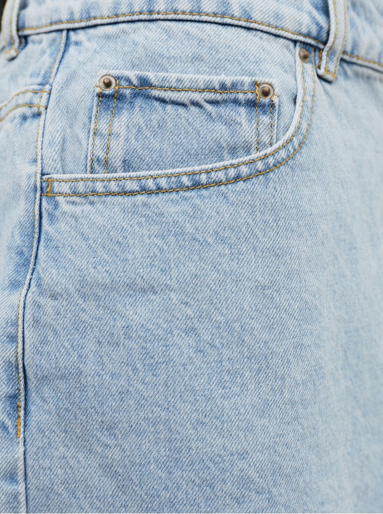 Svetlomodrá rifľová sukňa Alcott