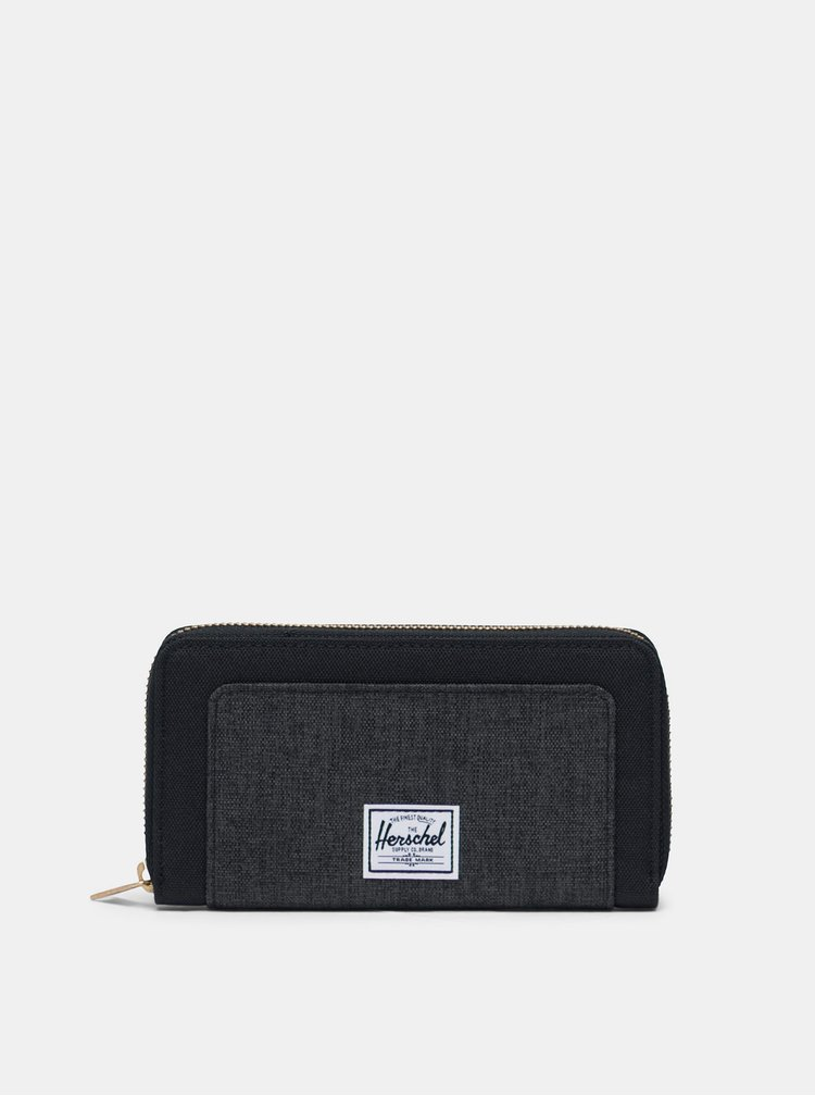 Černá peněženka Herschel Supply