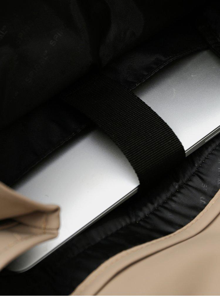 Světle hnědý batoh Spiral