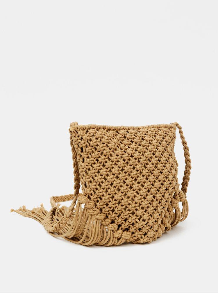Béžová crossbody kabelka Haily´s Emma