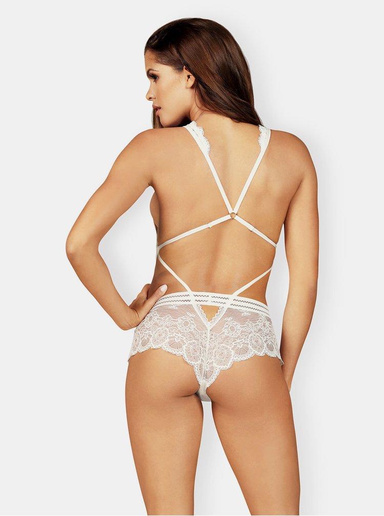 Body-uri pentru femei Obsessive - alb