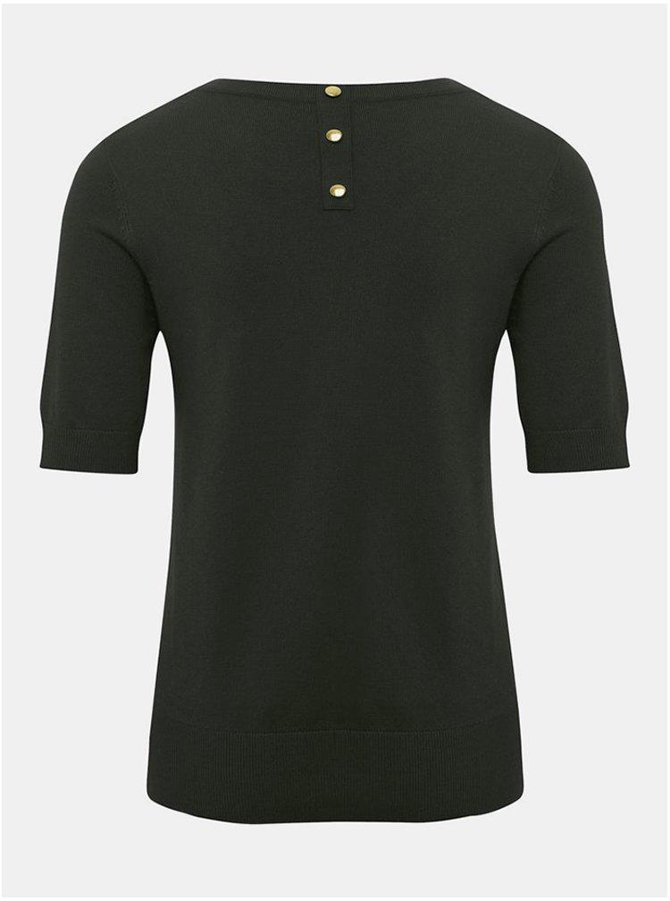 Černý svetrový top M&Co