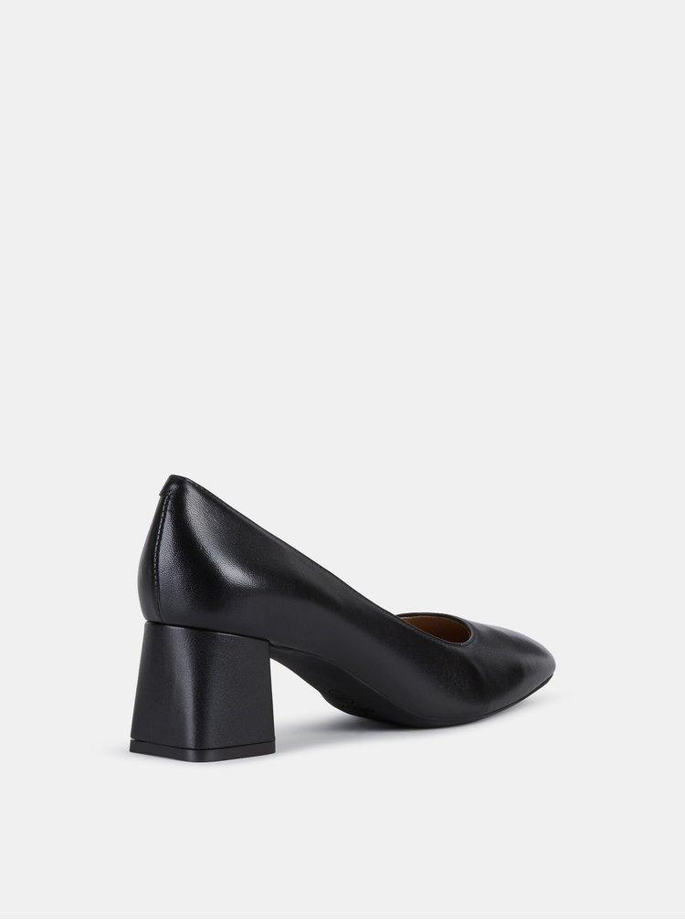 Pantofi cu toc pentru femei Geox - negru