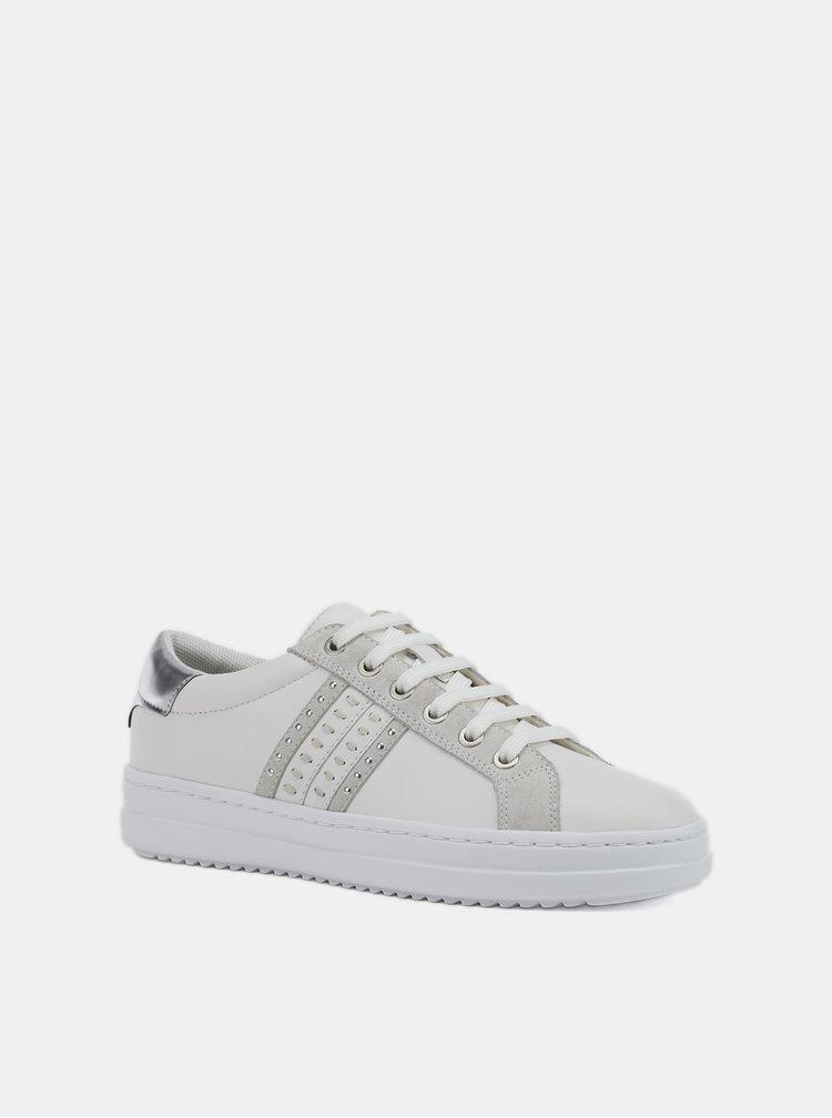Pantofi sport si tenisi pentru femei Geox - alb