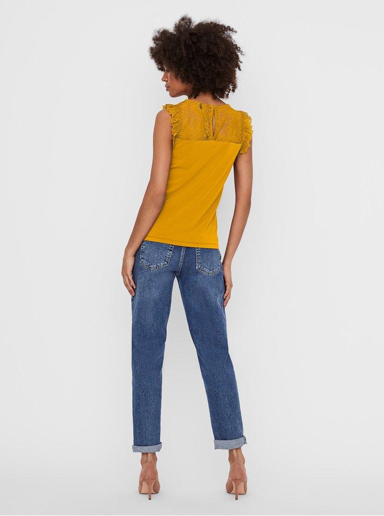 Topuri pentru femei VERO MODA - galben