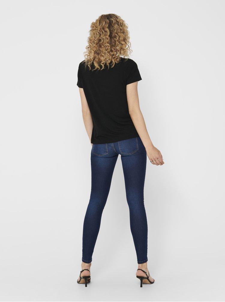 Černé tričko Jacqueline de Yong City