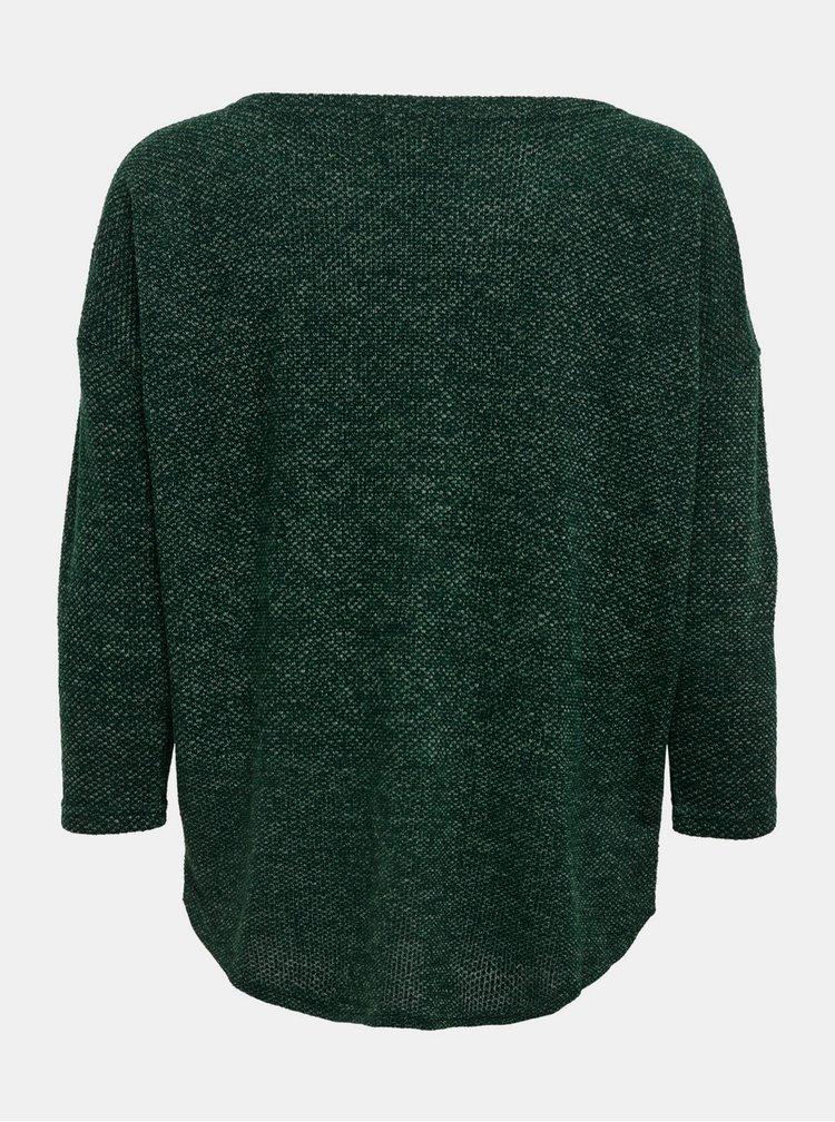 Tmavě zelený volný svetr ONLY Alba