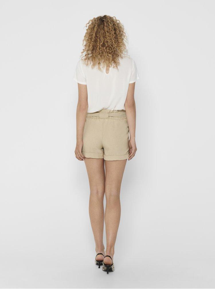 Pantaloni scurti  pentru femei ONLY - bej