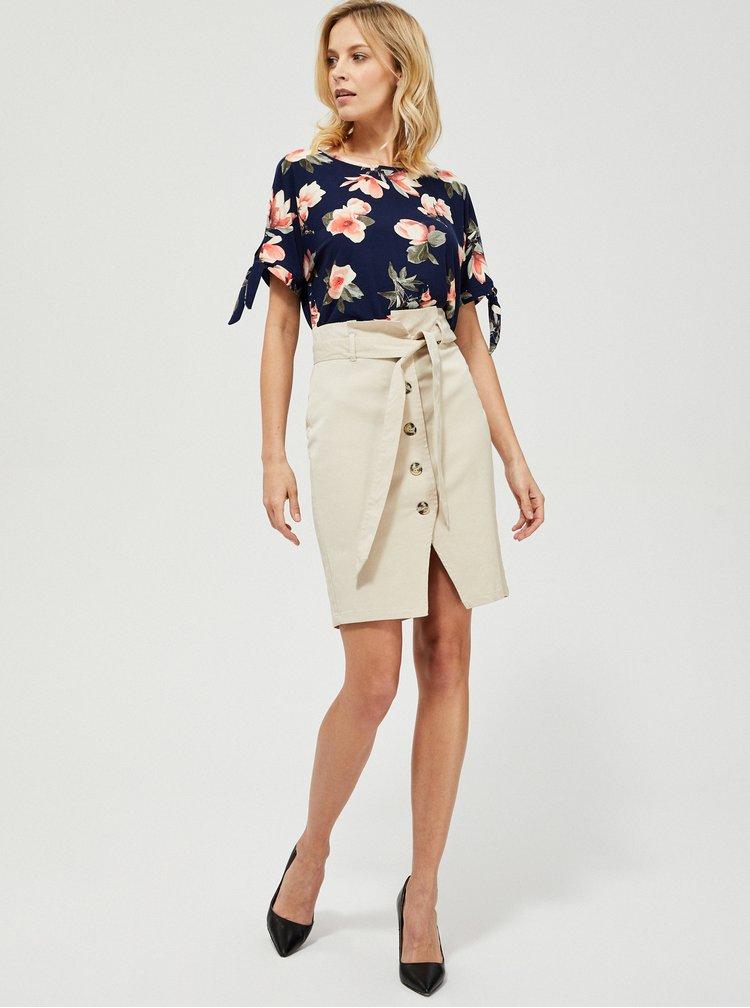 Béžová sukně Moodo
