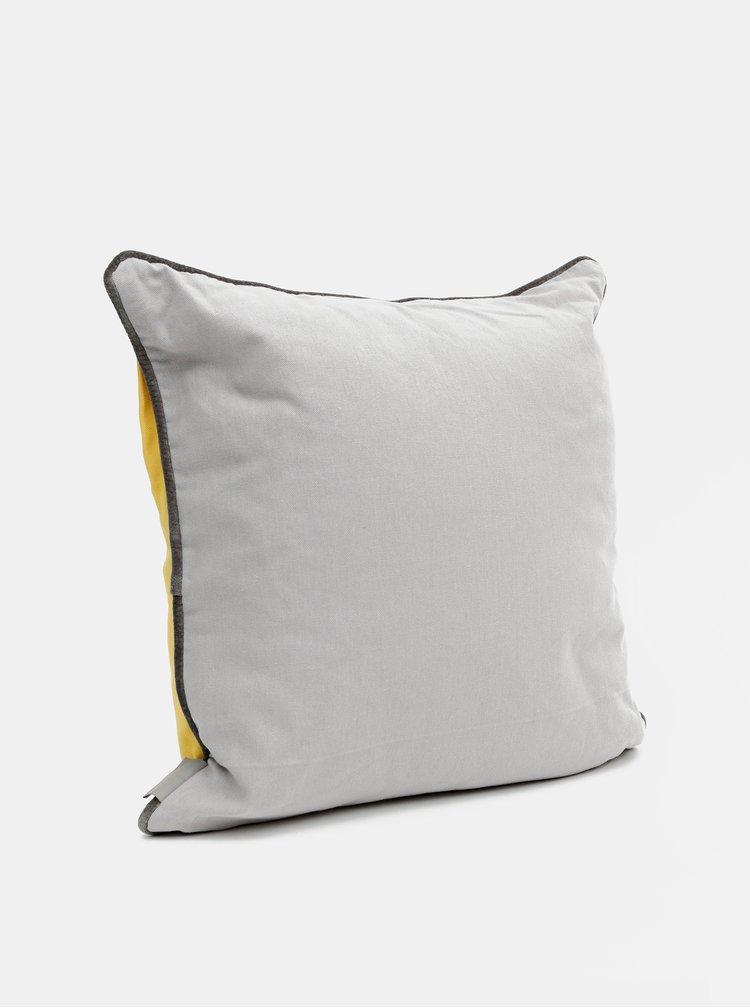 Žlutý polštář s potiskem Cooksmart 45 x 45 cm