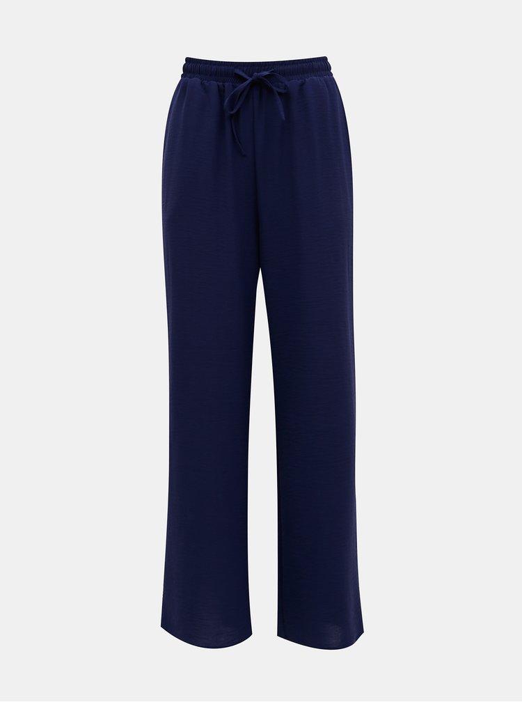 Tmavě modré kalhoty ONLY