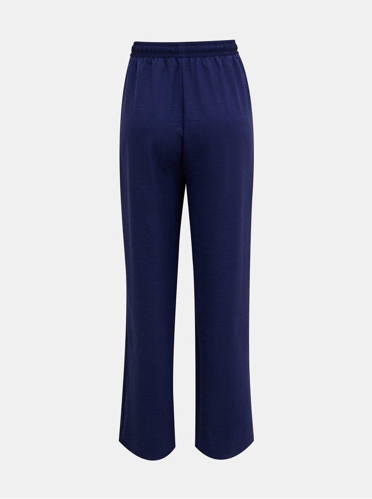 Pantaloni chino pentru femei ONLY - albastru inchis
