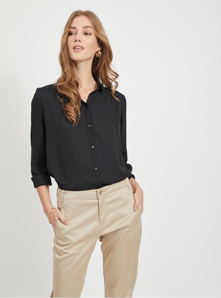 Černá košile VILA Lucy