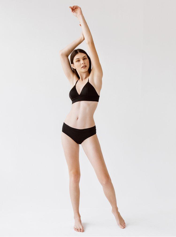 Černé menstruační kalhotky s velkou kapacitou SNUGGS