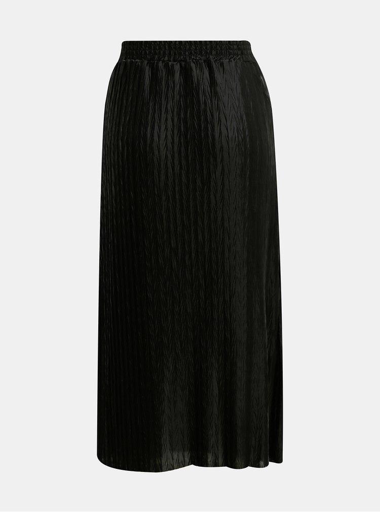 Černá plisovaná sukně VILA Pleasa
