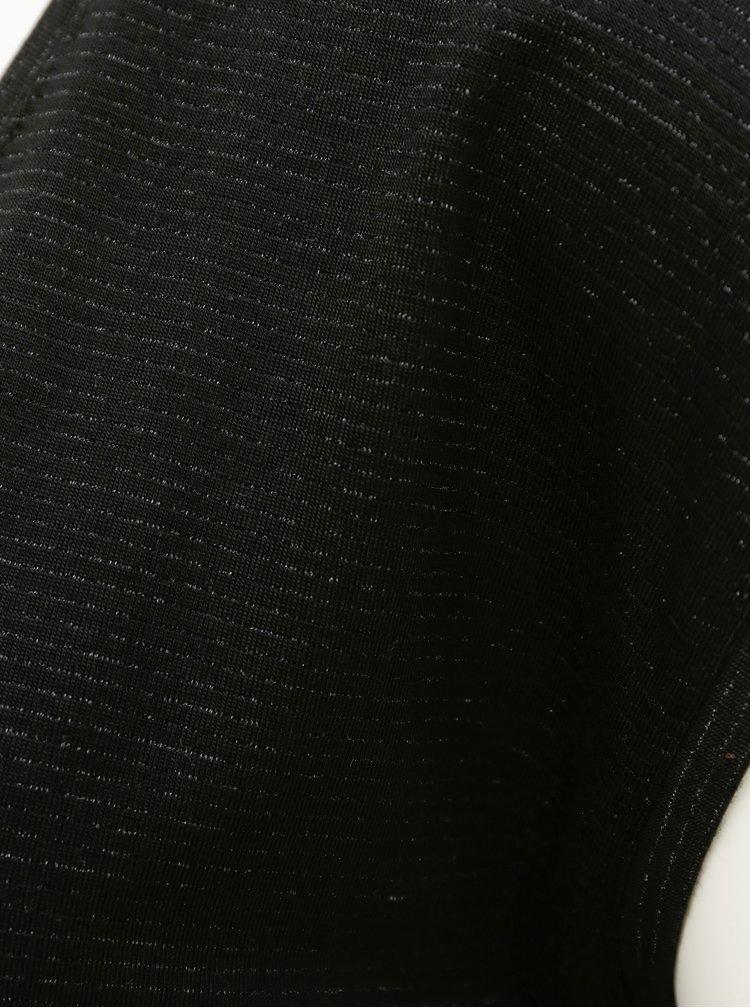 Tricouri pentru femei Pieces - negru