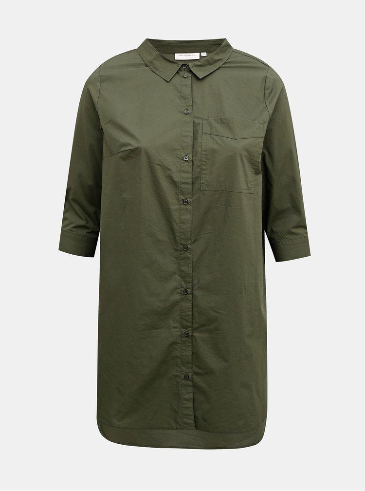 Zelená košile ONLY CARMAKOMA