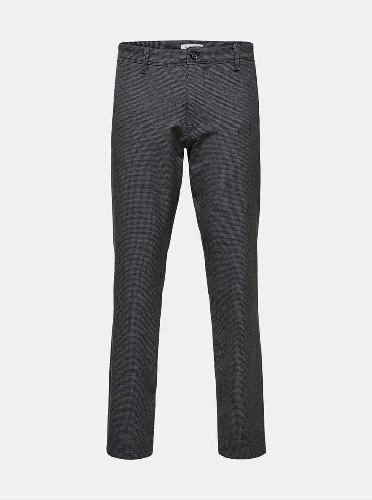 Šedé kalhoty Selected Homme