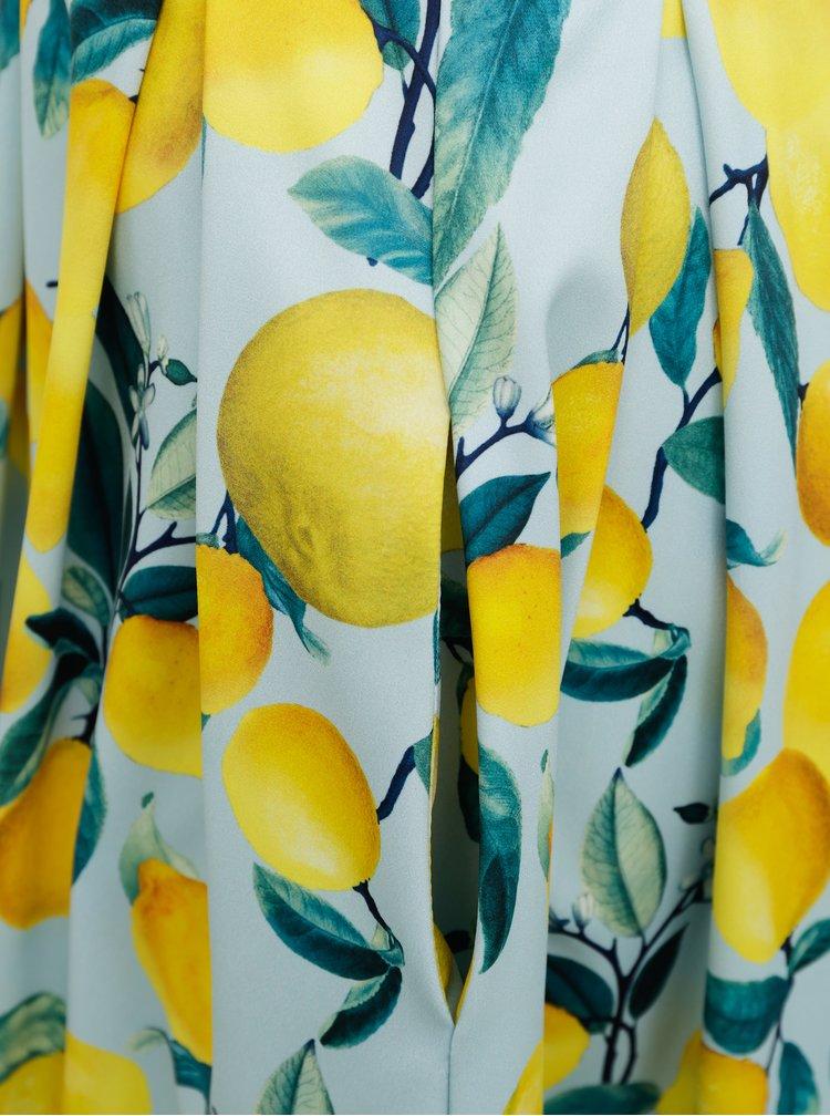 Rochii de vara si de plaja pentru femei Dolly & Dotty - albastru deschis, galben