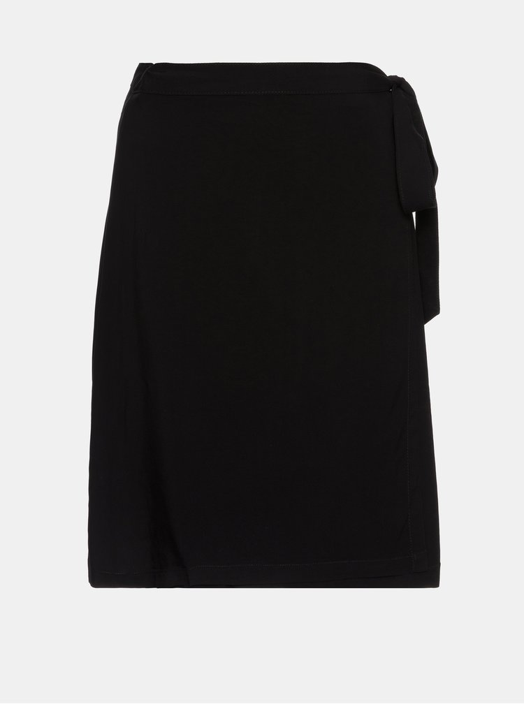 Černá zavinovací sukně SAM 73