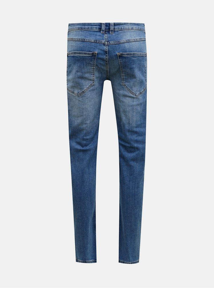 Modré slim fit džíny Redefined Rebel