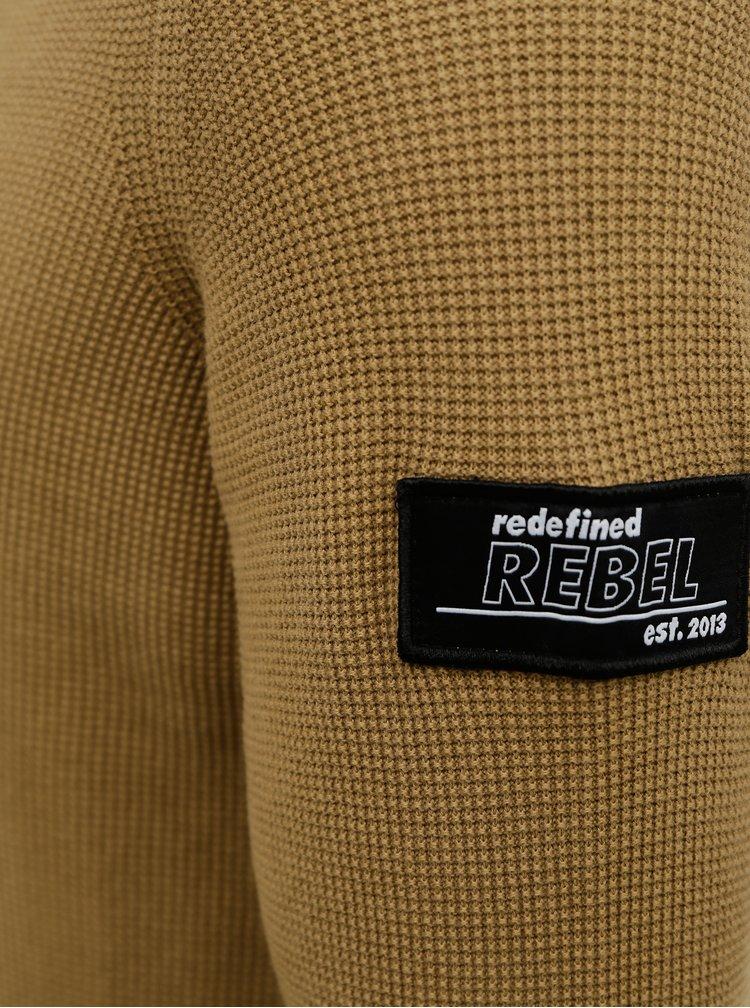 Hnědý svetr Redefined Rebel