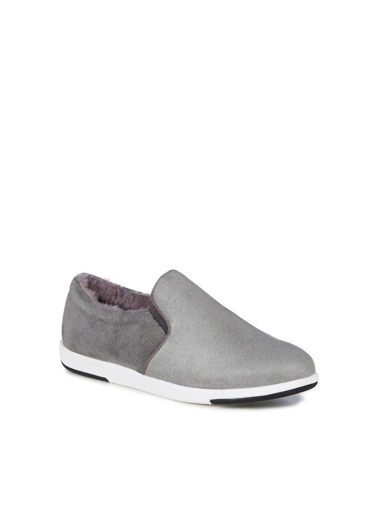Emu šedé boty slip-on Brunswick Fur Dove Grey