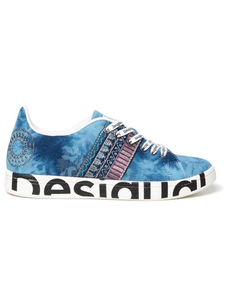 Desigual denimové tenisky Shoes Cosmic Exotic Denim