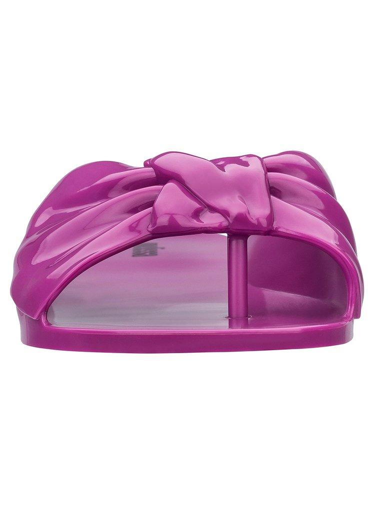 Melissa fuchsiové žabky Rose Dark Pink