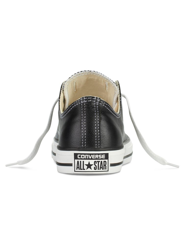 Converse černé kožené unisex tenisky Chuck Taylor All Star Black