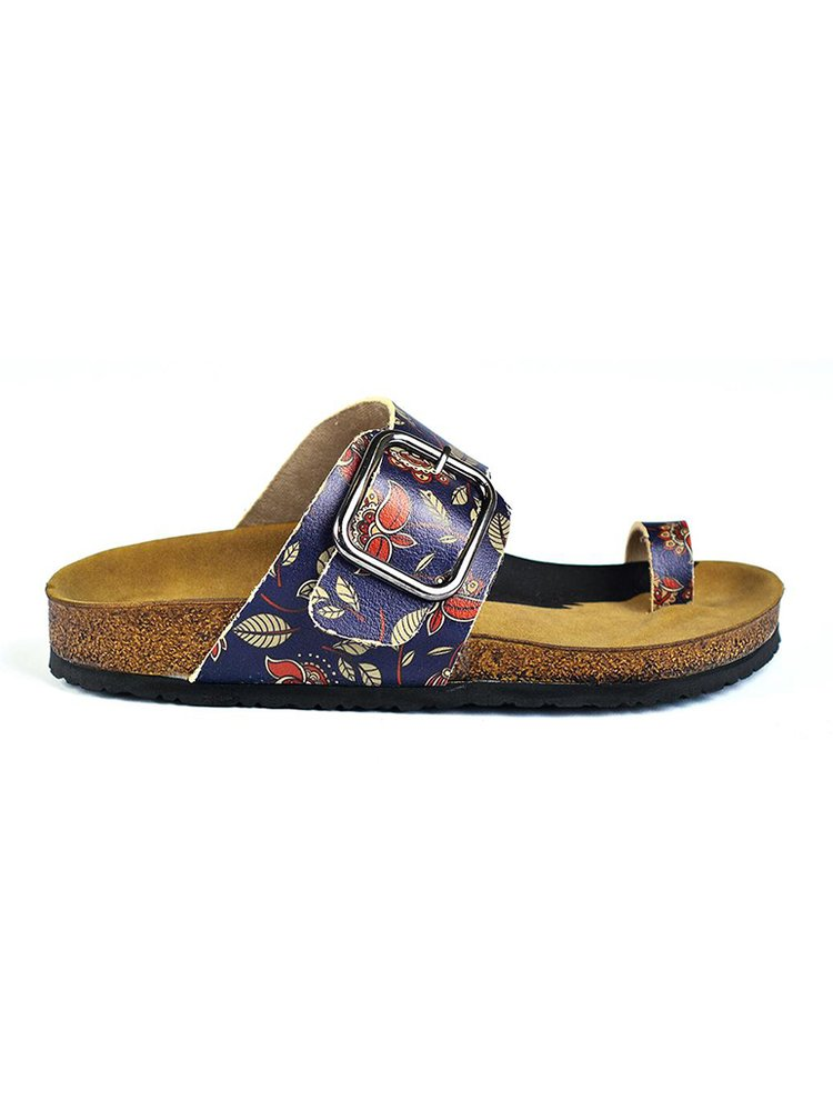 Calceo modré pantofle Thong Sandals Navy