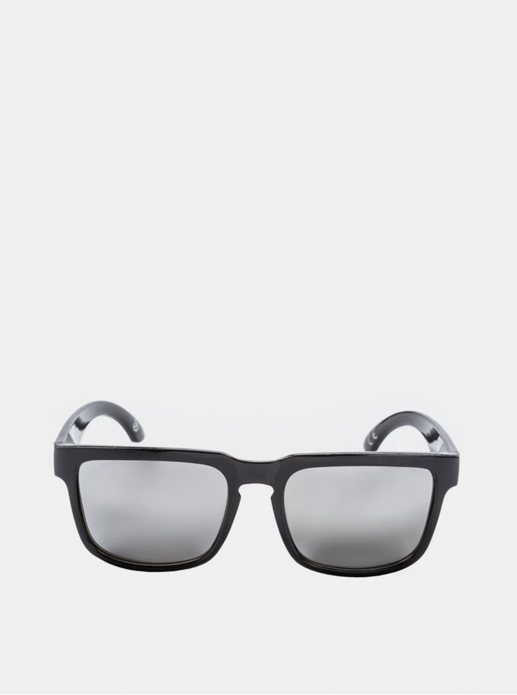 Černé pánské sluneční brýle Meatfly Memphis