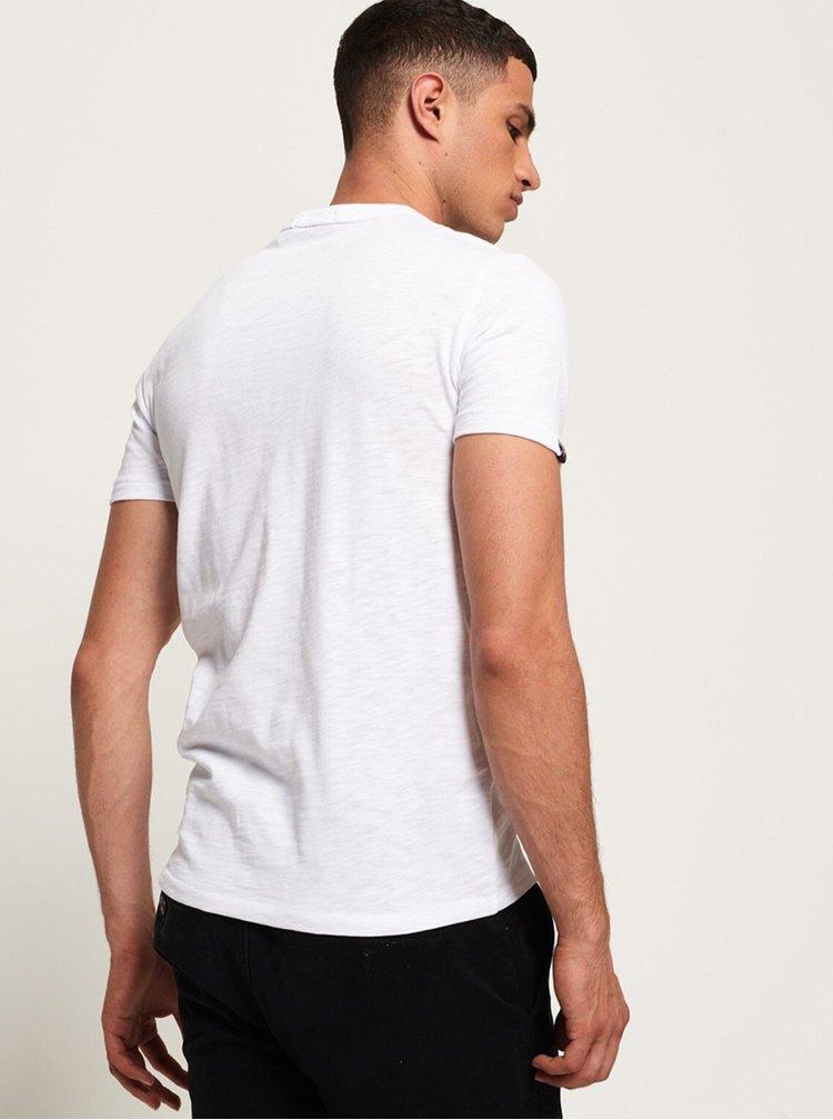 Bílé pánské tričko Superdry