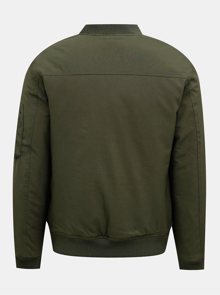 Jachete subtire pentru barbati Jack & Jones - kaki