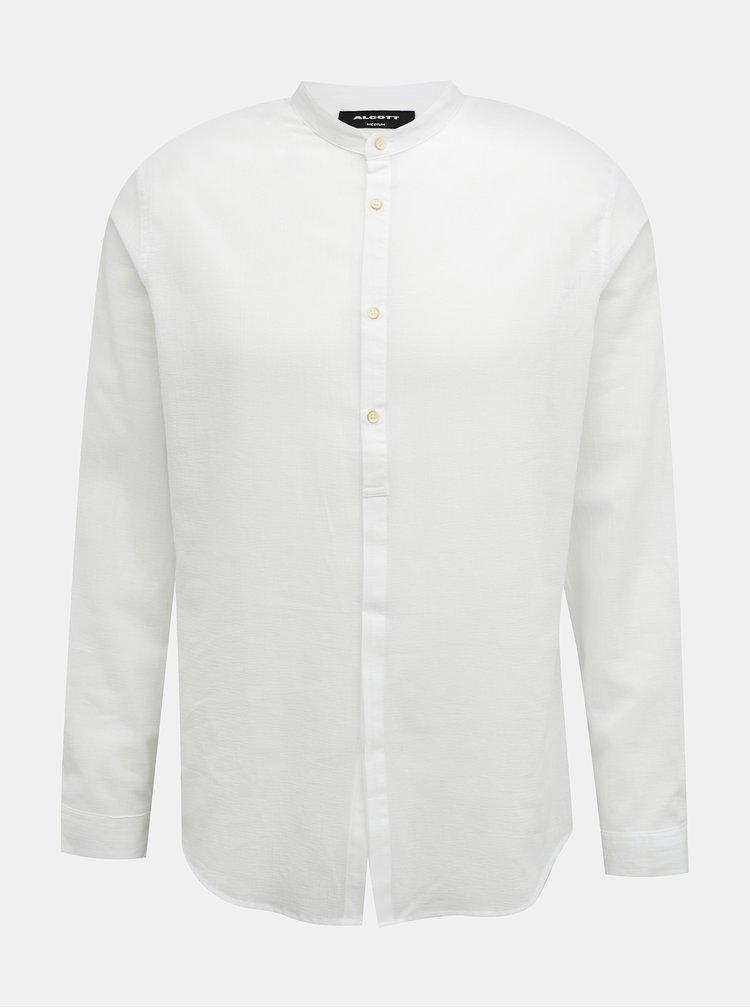 Bílá pánská košile Alcott