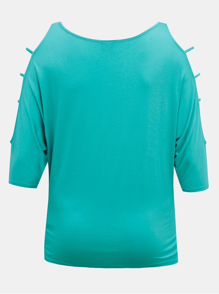 Tyrkysové dámské tričko SAM 73