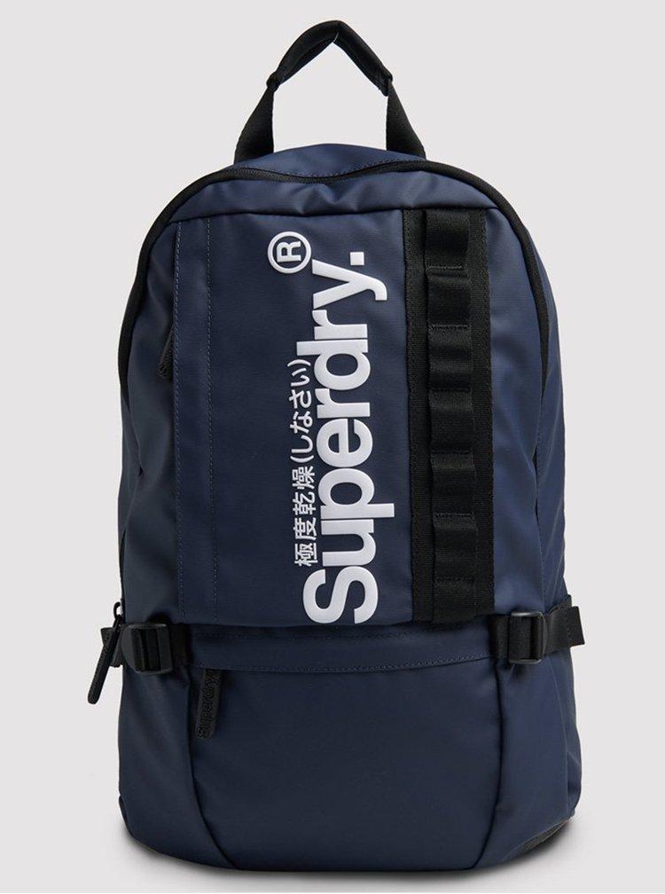 Tmavě modrý batoh Superdry