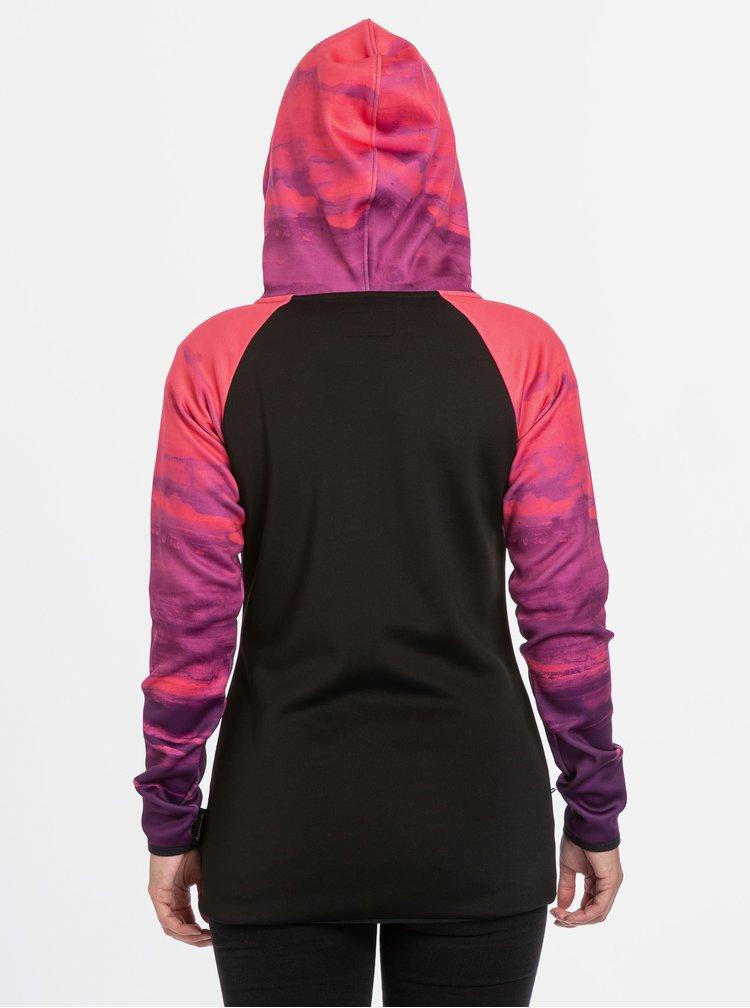 Hanorace pentru femei MEATFLY - negru, roz