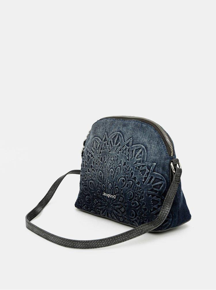Tmavě modrá kabelka Desigual
